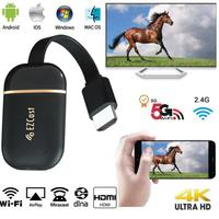 Wireless HDMI wifi display Dongle 5G 2.4G mirror screen 4K 1080P Miracast Android tv stick chromecast/Airplay Media Streamers