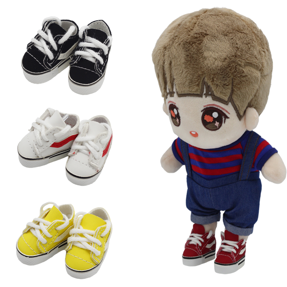 1/6 Doll Boots Toy Shoes For 15cm EXO DOLLS ,4cm Mini PU Leather Boots Shoes Accessories Dolls Toys
