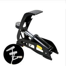 SAHOO Shark Tiger Horizontal Bar Universal Bicycle Pedal Pump Electric Car Motorcycle Foot Convenient and Practical
