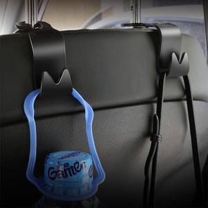 1 шт. креативный крючок для интерьера автомобиля из АБС, скрытая стойка для спинки заднего сиденья для Toyota TRD Racing VIOS avensis auris hilux, аксессуары