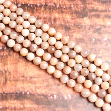 Sun Stone Natural Stone Beads Loose Stone Beads For Jewelry Making DIY Bracelets Necklace Accessories 4/ 6/8/10mm