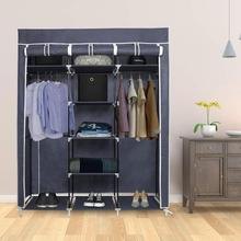 Non-woven Cloth Wardrobe DIY Portable Storage Closet Folding Dustproof Clothing Storage Cabine Closet Cabinet Bedroom Furniture