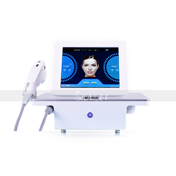 Portable Skin Tightening Facial Lifting Wrinkle Removal Anti-aging Body Slimming Beauty Machine with 5 Cartridges best offer beauty machine portable anti aging fractional rf dot matrix anti aging facial skin care spa salon