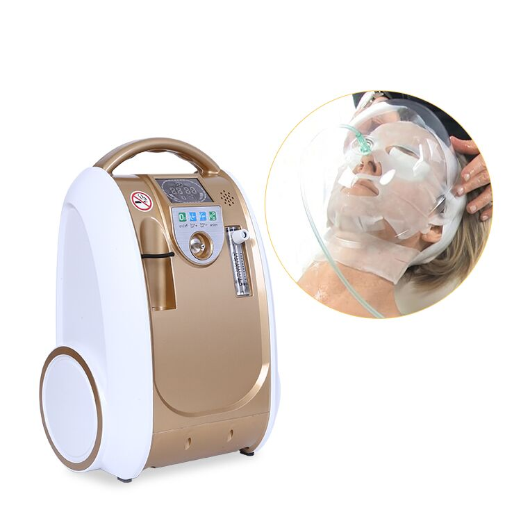Therapy Hyperbaric Oxygen Facial Jet Peel Water Skin Facial Oxygen Machine For Sale