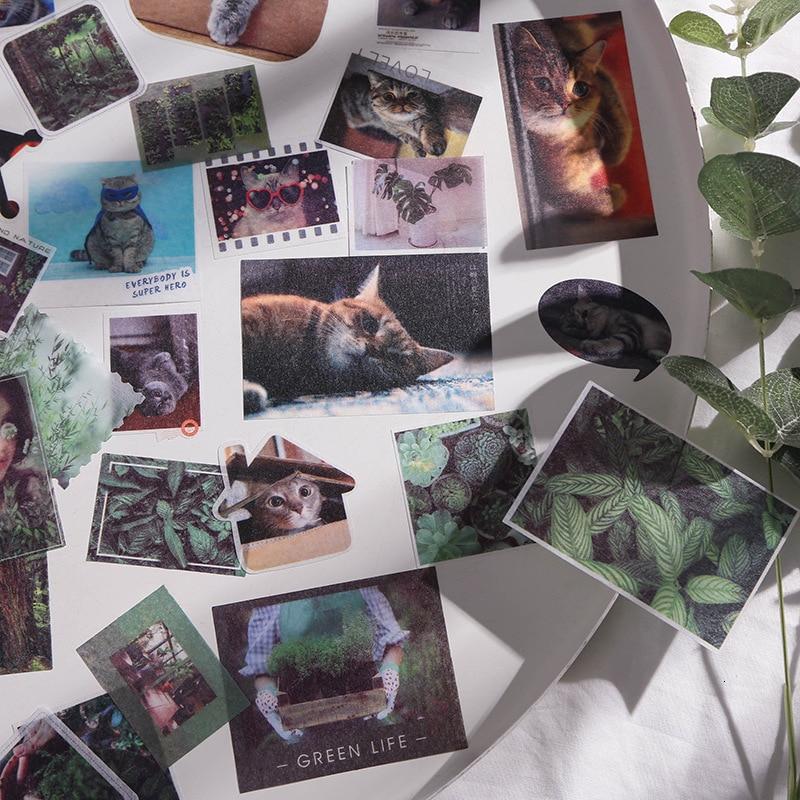 Creative Paper Cute Sticker Bag Animal Kawaii Decoration Handbook Cartoon DIY Diary Photo Stickers Scrapbooking Stationary 06564