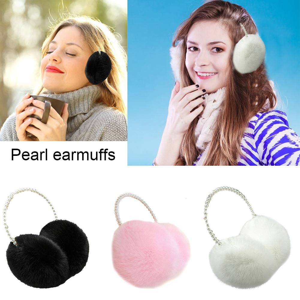 New Girls Cute Ear Warmers Earmuffs Adjustable Autumn Winter Ear Cover Headband For Outdoor