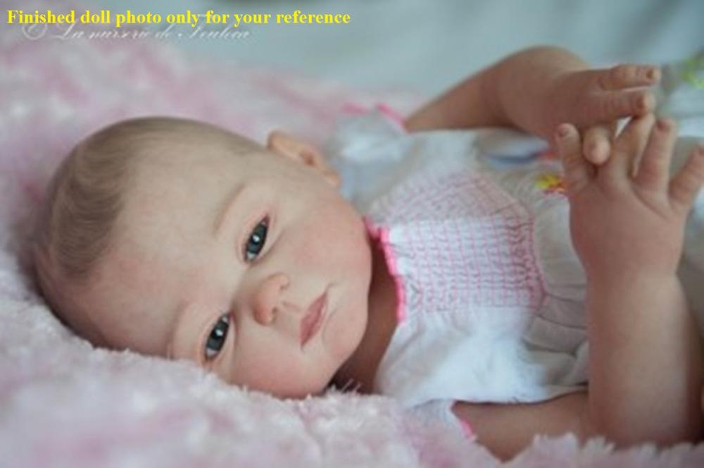 NPK カルメラリボーン人形キット DIY 塗装ブランク人形キットフルソフトビニール人形キット解剖学的に正確  グループ上の おもちゃ & ホビー からの 人形アクセサリー の中 2