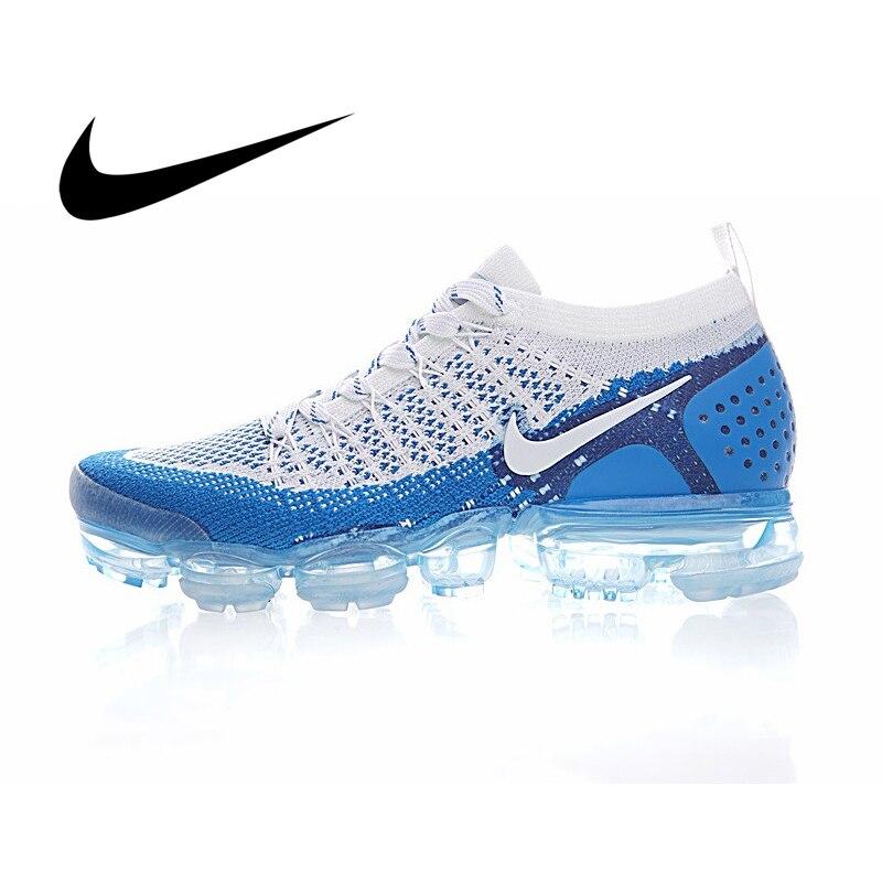 Ban Đầu Xác Thực Nike Air Vapormax Flyknit 2.0 Bộ Nam Thoáng Khí Thể Thao Ngoài Trời Giày Sneaker Thể Thao 2019 New 942842