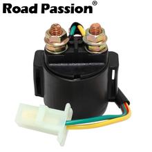 Road passion rozrusznik motocyklowy przekaźnik elektromagnetyczny wyłącznik zapłonu do HYOSUNG GT125R GT250R GT650R MS1-125 MS3-250 dla POLARIS tanie tanio 0inch 120g Excellent function of adjustment 12 v Iso9000 GT125 GT250 GT650 GT 335 SPORTSMAN WORKER 500 MS1 MS3 R 125 250 650