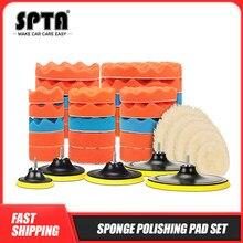 SPTA-Kit de tampons de polissage de voiture, 8 pièces, 3