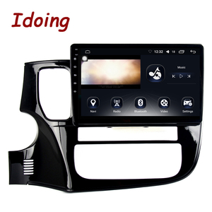 """Image 3 - Idoing 10.2""""4G+64G 8 Core Car Android Radio Multimedia Player Fit Mitsubishi Outlander 2014 2017 2.5D IPS GPS Navigation"""