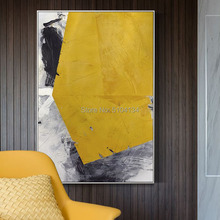 Modern minimalist Roscoe abstract color paintings company extra large huge living room mural size decorative oil painting