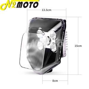 Image 5 - Supermoto LED Headlight For Hus FE 250/350/450/501 TE 150/250/300 250i/300i 2017 2019 Off Road MX Enduro Dual Sport Head Light