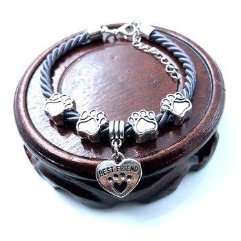 Dog Paw Charm Bracelet  5