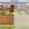 Artificial Leaf Garden Fence Screening Roll UV Fade Protected Privacy Artificial Fence Wall Landscaping Ivy Garden Fence Panel