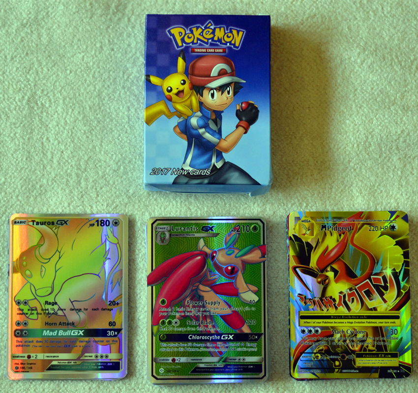60 Pokemon Pokemon Pokemon Pokemon Pokemon Sun Moon Card Battle Card Flash Card EX GX Card