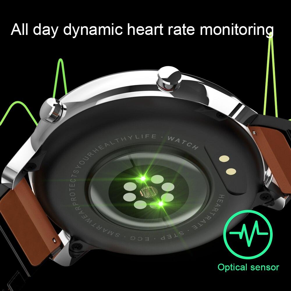 Montre intelligente numérique mode hommes affaires montre-Bracelet rappel d'appel de luxe moniteur de sommeil Bracelet musique à distance Smartwatch pour homme 6