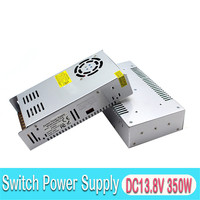 Universal 13.8V 25.4A 350W DC Power Supply Driver Transformers 220V 110V AC DC13.8V Powers Source for CCTV Camera Light Monitor