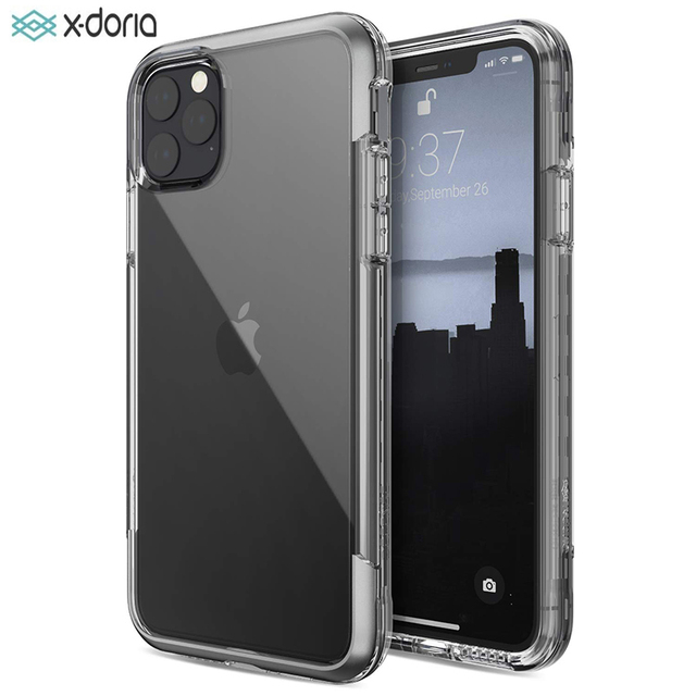 X Doria Defense Air Phone Case For iPhone 11 Pro Max Military Grade Drop Tested Case Cover For iPhone 11 Pro Aluminum Cover