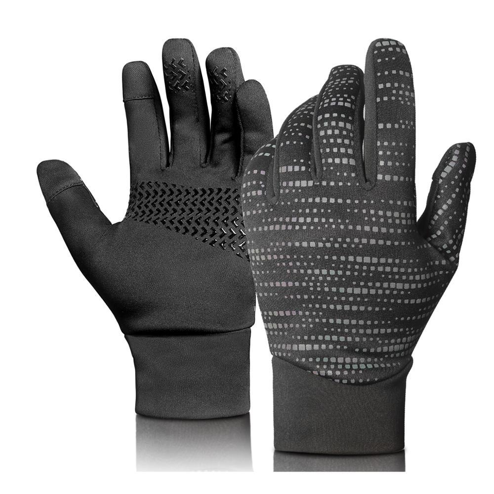 Купить теплые велосипедные перчатки с сенсорным экраном для езды на