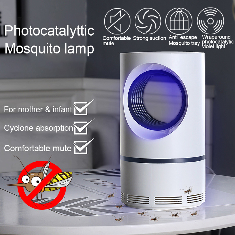 Electric Mosquito Killer Lamp USB Insect Killer Bug Zapper Anti Mosquito Trap Flie Lantern UV Night Light Indoor Repellent Lamps