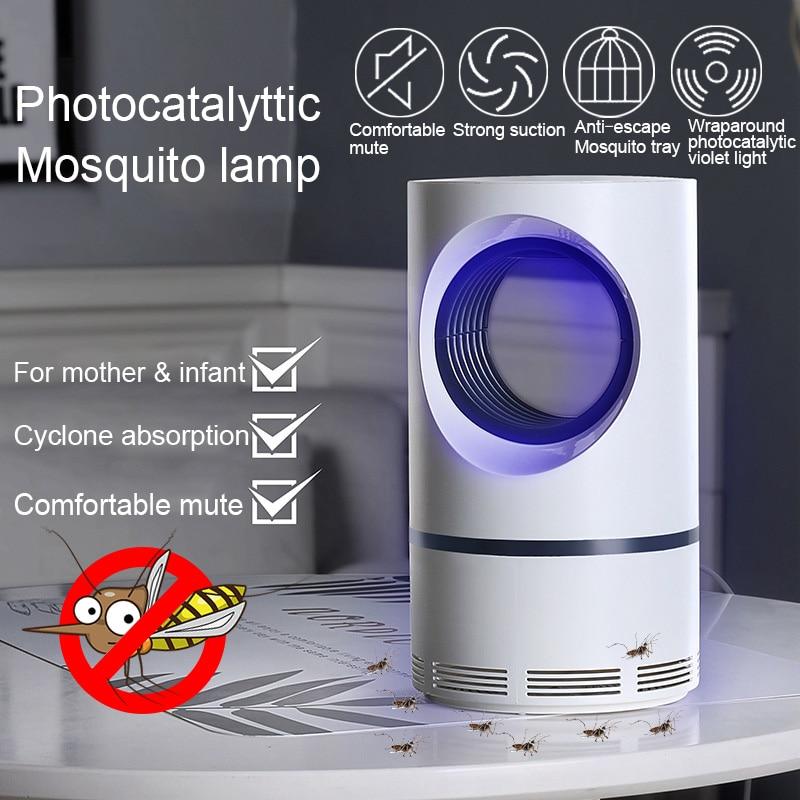 Electric Mosquito Killer Lamp USB Insect Killer Bug Zapper Anti Mosquito Trap Flie Lantern UV Night Light Indoor Repellent Lamps