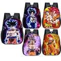 12 дюймов Аниме Драконий жемчуг Детский рюкзак Супер Saiyan Goku Gohan детские школьные сумки для мальчиков и девочек Сумка для малышей