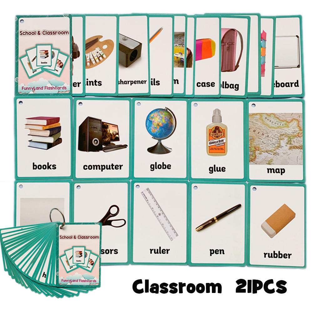 palavra cartão inglês cartão de papel crianças