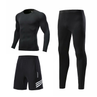 black - Fitness running sportswear