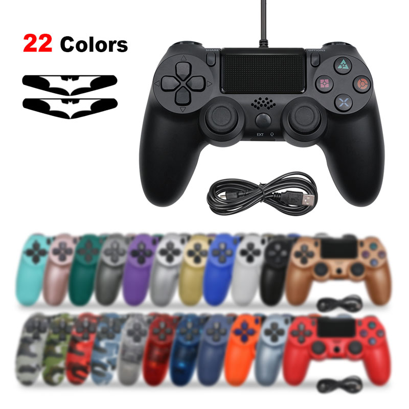 USB Wired  Joystick for PS4 Controller Fit For mando ps4 Console For Playstation Dualshock 4 Gamepad For PS3