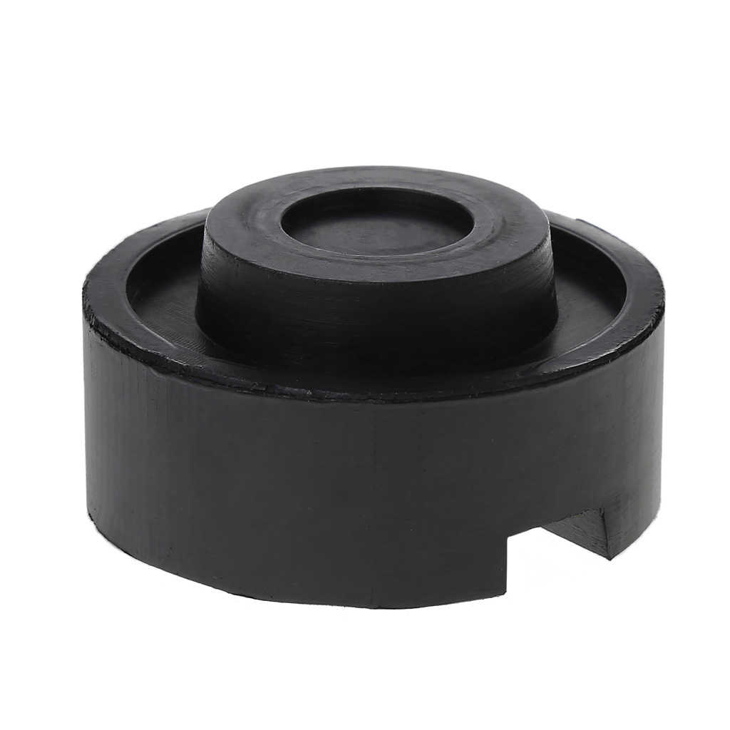 Zwart Rubber Ingelaste Floor Jack Pad Frame Rail Adapter Voor Pinch Las Side Pad Drop Shipping Ondersteuning