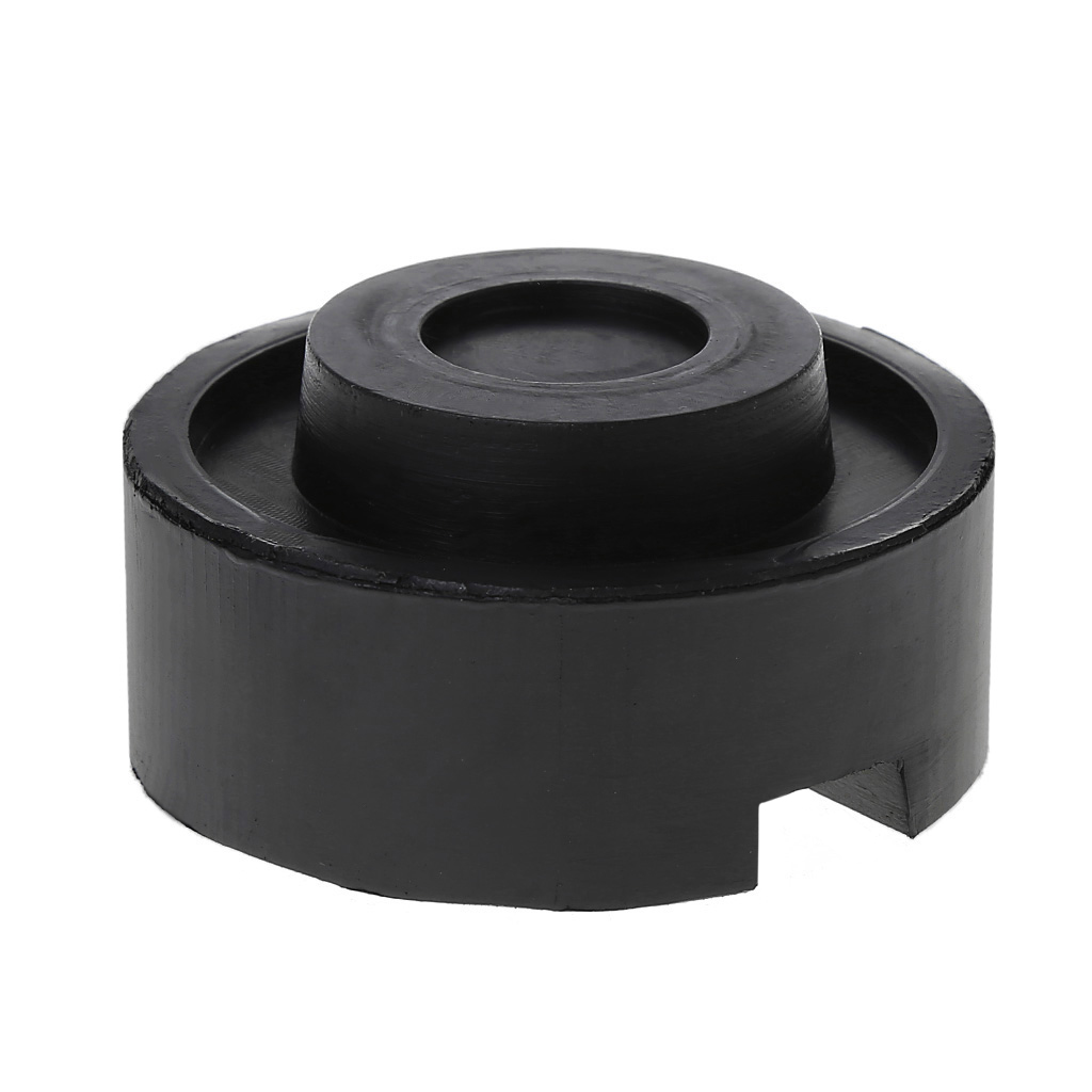Black Rubber Slotted Floor Jack Pad Frame Rail Adapter For Pinch Weld Side Pad Drop Shipping Support