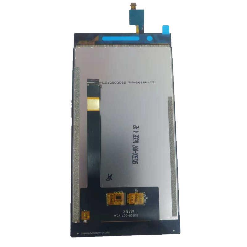 Для Philips Xenium X586 ЖК-дисплей + кодирующий преобразователь сенсорного экрана в сборе черный с инструментами и лентой