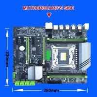 computer motherboard Computer Motherboard 4xDDR4 DIMM 2400/2133MHz SATA3.0 NVME M.2 Dual USB 3.0 PCI-E Slot LGA2011-3 Pin CPU 4 Channels Motherboard (2)
