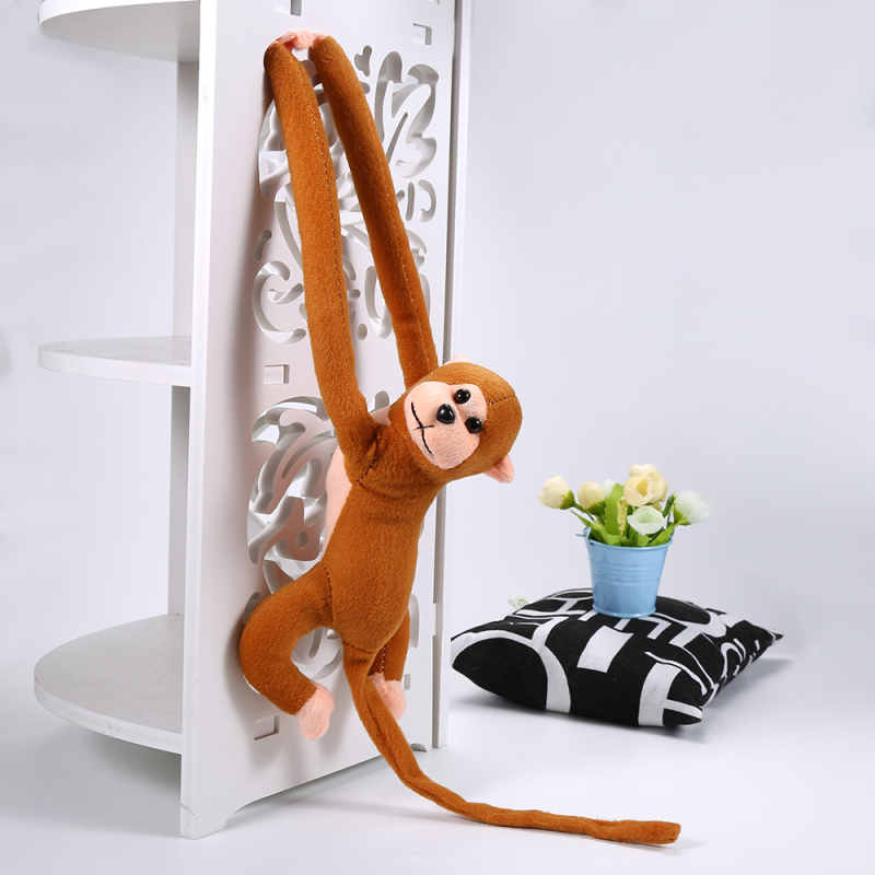 Image 3 - 60cm Funny Monkey Animal Long Hands Doll Soft Plush baby Toy Stroller Sleeping Toys Stuffed Dolls Children Gift-in Stuffed & Plush Animals from Toys & Hobbies