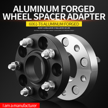 Forged Aluminum Anodizing Wheel Spacer 5x114.3 Hub extender 5x4.5'' CB 54.1mm For Geely Emgrand