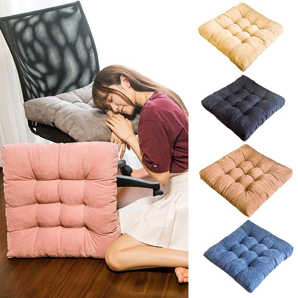 Высокое качество, простая Подушка для стула, высокая эластичность, мягкий футон, коврик для обеденного стула, Студенческая скамейка, Офисная Йога|Подушка|   | АлиЭкспресс