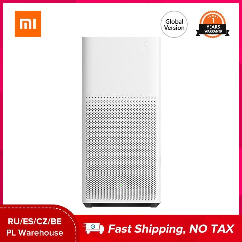 Purificador de aire Xiaomi Mi versión Global 2H Mijia esterilizador adición formaldehído lavado limpieza inteligente Virus de aire doméstico|Purificadores de aire| - AliExpress