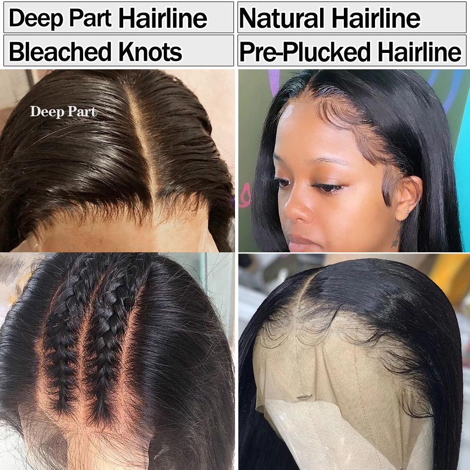 Curly Human Hair Wig Lace Front Human Hair Wigs For Black Women Brazilian Wig Non Remy 13×46 Transparent Lace Wigs Human Hair 7
