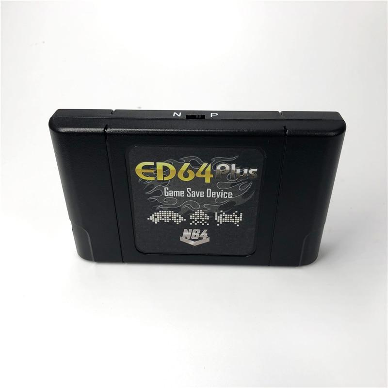 Cartucho de jogos super diy 340 em 1, com caixa de varejo para video game ntsc & pal, suporte para 64 bit cartão com 16gb presente