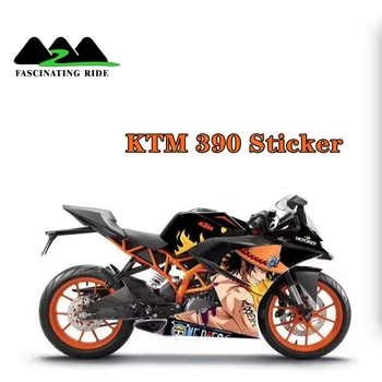 Applicable to KTM rc390 motorcycle refitting sticker all car body sticker personalized waterproof protection Decal film