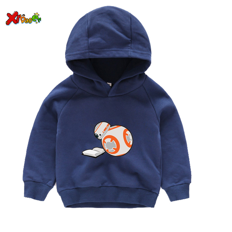 Super Promo Ddbb Baby Boys Hoodies Bb 8 Star War Autumn Winter
