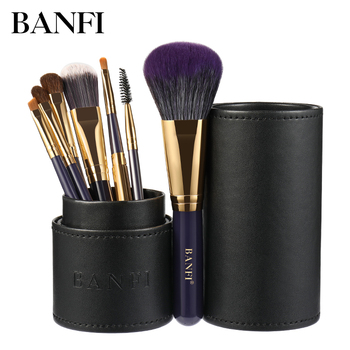 7PCs/set Makeup Brushes Set Professional Beauty Make-Up Brush Natural Hair Foundation Powder Blushes Eyeshadow Concealer Lip Eye beili complete professional 25 pieces foundation powder concealer eyes hadow makeup brush set