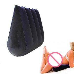 Image 3 - インフレータブルセックス愛枕エイドスリーピングウェッジボディ位置サポートクッションセクシーなエロ大人マジックゲームおもちゃカップル枕女性のための