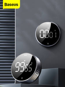 Baseus Kitchen-Timer Alarm-Clock Digital Countdown Electronic-Cooking for Cooking-Shower