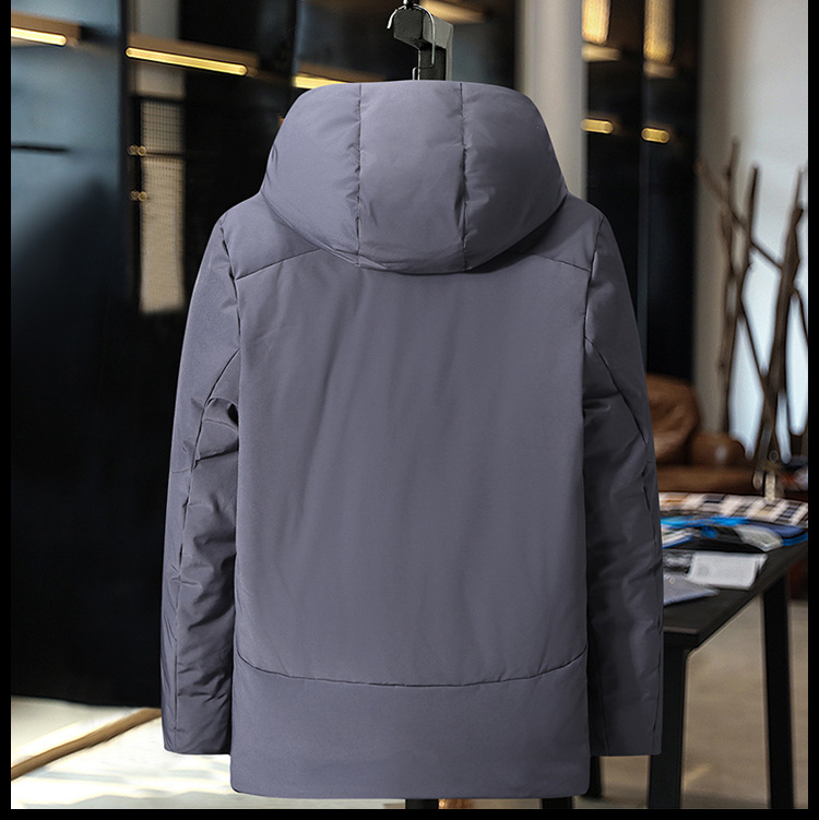 HO new 19 thickening down jacket young men brief paragraph clothes leisure in winter to keep warm 2