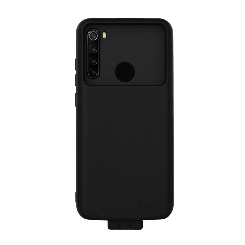 For Xiaomi Redmi Note 8T Slim Battery Charger Case  Back Clip Battery Case For Redmi Note 8T Shockproof Extended Power Bank Case