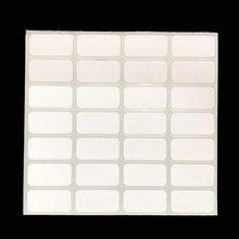Etiquetas adesivas para pintura com diamante, etiquetas de armazenamento de classificação de diamante distinguir 500 peças