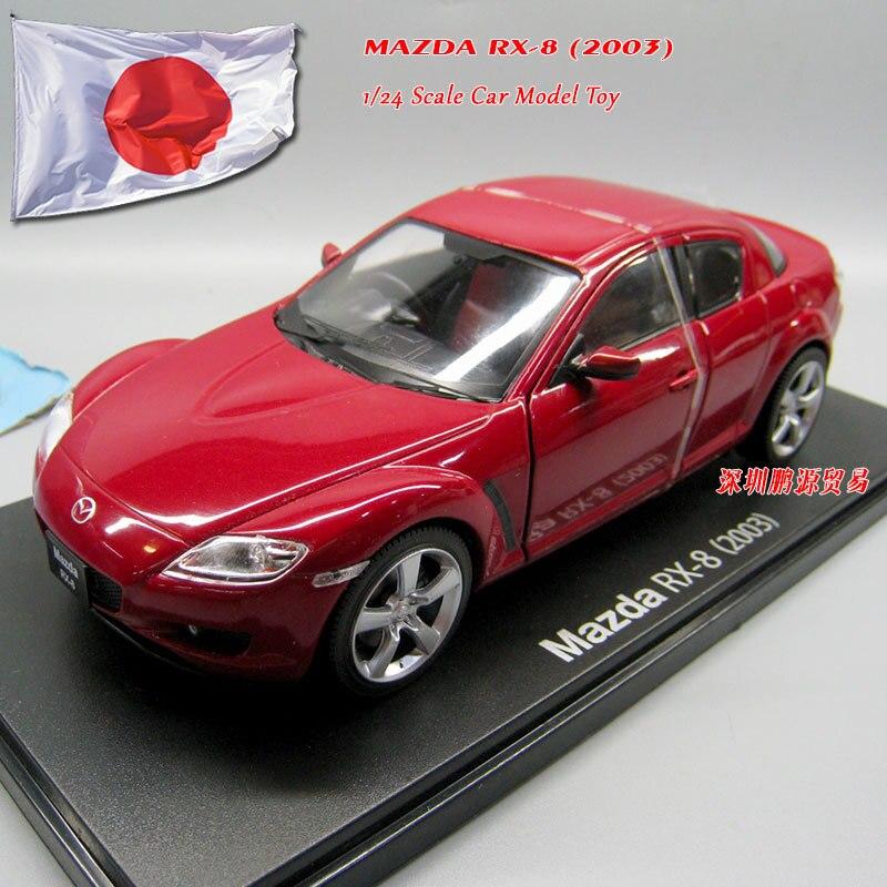 IXO 1/24 масштаб Япония MAZDA RX 8 (2003) автомобиль из литого металла модель игрушка для коллекции, подарок, дети, коллекция