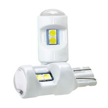 2 pcs Car Led Light Canbus T10 W5W 194 168 3030 parking license lamp super bright width silicone auto interior